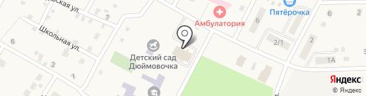 Пятёрочка на карте Приморского
