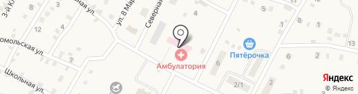 Аптечный пункт на карте Приморского