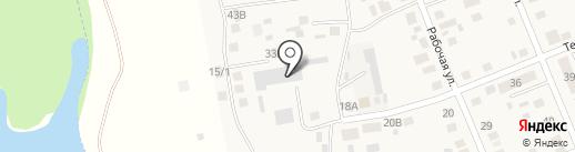 НОВАТЭК-Челябинск на карте Агаповки
