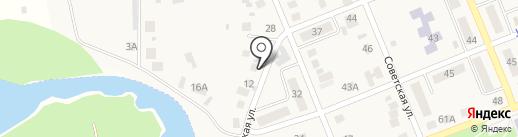 Вертера на карте Агаповки