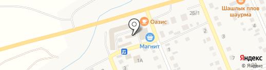 Первая Линия на карте Агаповки