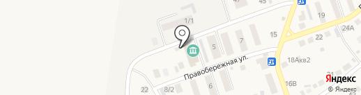 Есения на карте Агаповки