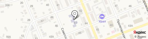 Берёзка на карте Агаповки