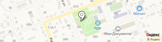 Шиномонтажная мастерская на карте Агаповки