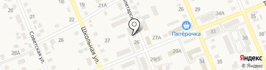 Магазин продуктов на Пролетарской на карте Агаповки