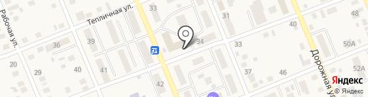 Баржа на карте Агаповки