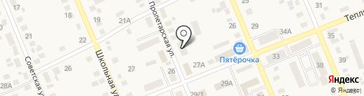 Ольга на карте Агаповки