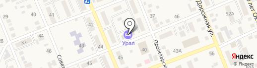 Гостиница на карте Агаповки