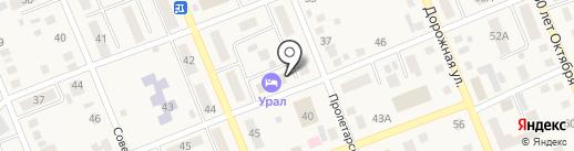 Участковый пункт полиции №1 на карте Агаповки