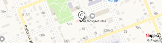 Читай город на карте Агаповки