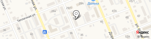 Звезда на карте Агаповки