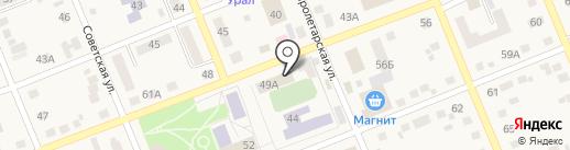 Управление Федеральной государственной регистрации, кадастра и картографии по Челябинской области на карте Агаповки