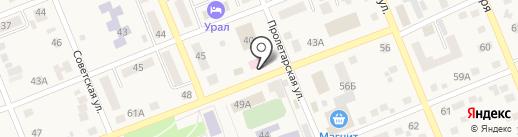 Аптека №97 на карте Агаповки