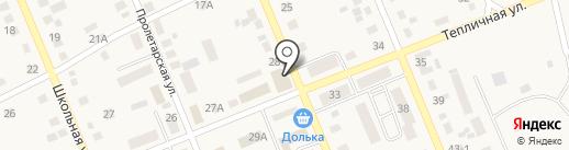 Аптека от склада на карте Агаповки