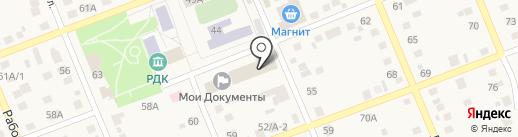 Натали на карте Агаповки