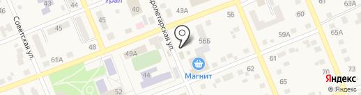 Ультроника на карте Агаповки