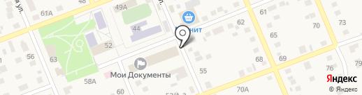 Магазин строительного крепежа на карте Агаповки