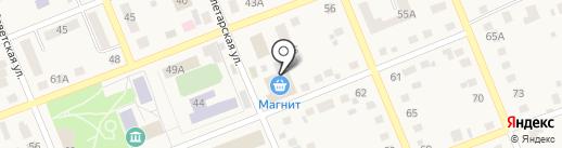 Банкомат, Сбербанк России на карте Агаповки