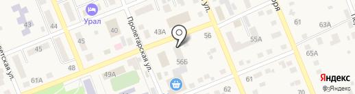 Оптово-розничный магазин на карте Агаповки
