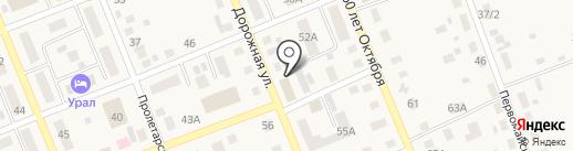 МТС на карте Агаповки
