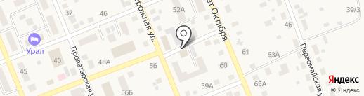 Добрый на карте Агаповки