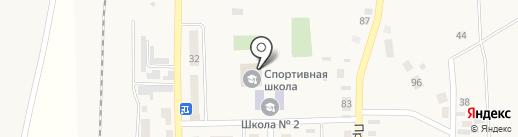 Агаповская ДЮСШ на карте Агаповки