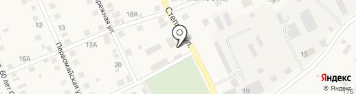 Агаповоагропромэнерго на карте Агаповки