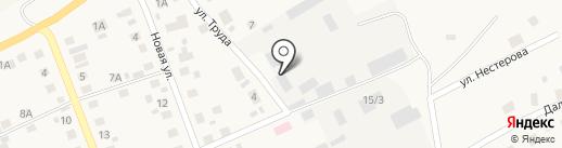 Агаповская районная эксплуатационная служба на карте Агаповки