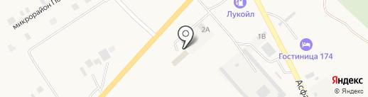 Пункт технического осмотра Агаповского района на карте Агаповки