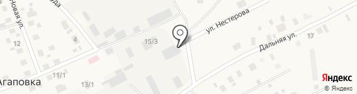 Пилорама на карте Агаповки