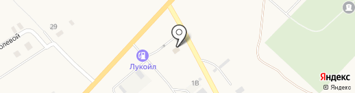 АЗС Лукойл-Уралнефтепродукт №74166 на карте Агаповки