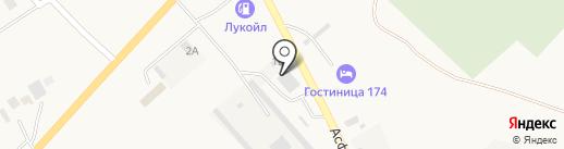 Автоцентр на карте Агаповки