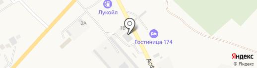 Кафе 174 на карте Агаповки