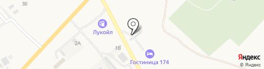 Автостоянка на карте Агаповки