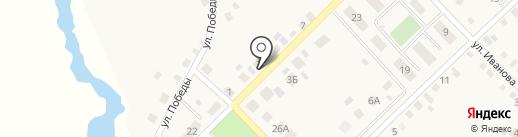 Магазин автодеталей на карте Верхнеуральска