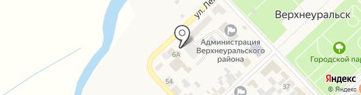 ПивСтанция-1 на карте Верхнеуральска