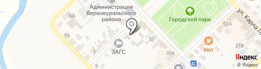 Управление инженерного обеспечения и строительства Администрации Верхнеуральского района на карте Верхнеуральска
