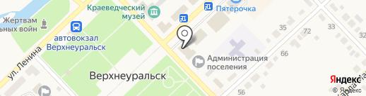 Мираж на карте Верхнеуральска