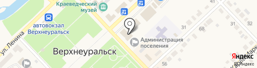 Мир антенн на карте Верхнеуральска