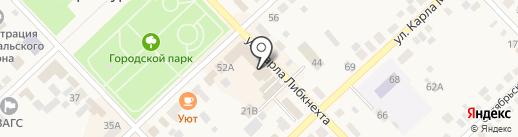 Магазин детской одежды на карте Верхнеуральска