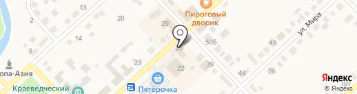 Лакомка на карте Верхнеуральска