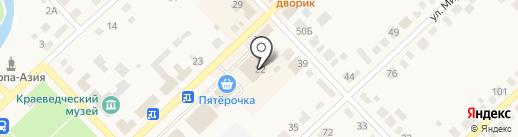 Универсам на карте Верхнеуральска