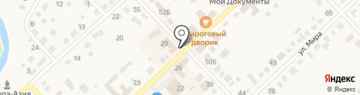 МТС на карте Верхнеуральска