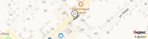 Мясной на карте Верхнеуральска