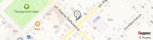 Цветы на карте Верхнеуральска