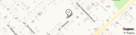 Детская библиотека на карте Верхнеуральска