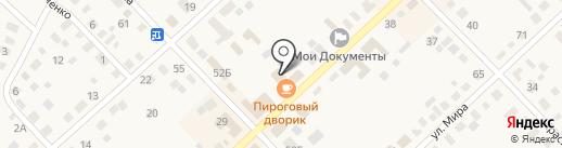 Пироговый дворик на карте Верхнеуральска
