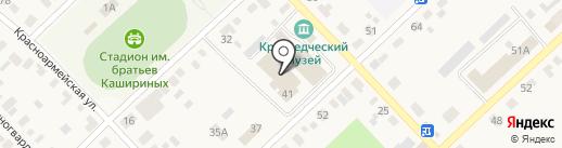 Верхнеуральский городской дом культуры на карте Верхнеуральска