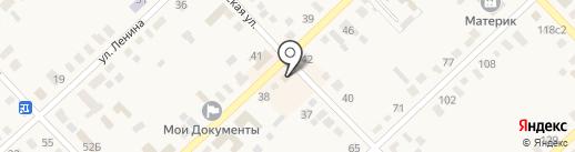 Образ на карте Верхнеуральска