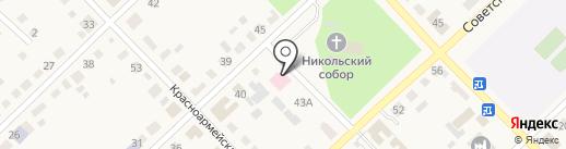 Поликлиника на карте Верхнеуральска